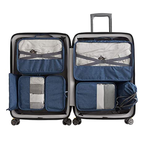 Organizadores para Maletas 7 Piezas Bolsas de Viaje Deporte ...