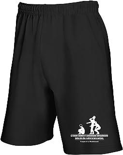 Speed Shirt Pantaloncini Tuta Nero T1066 MENTI MEDIOCRI Fun Cool Geek