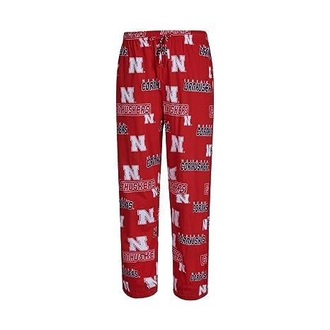ce6c3a4f2 Nebraska Cornhuskers Mens Red College Cotton Slide Pajama Pants (Small)