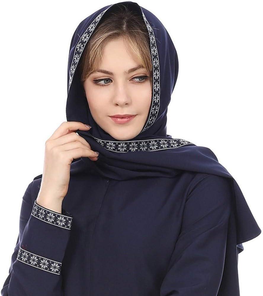 Muslim Womens Multi Function Turban Hijab Head Wrap Islamic Long Scarf Shawl