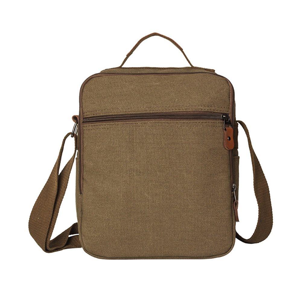 Amyove Men Crossbody Bag,Canvas,Casual All-Match Messenger Shoulder Bags