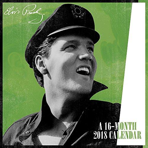 2018 Elvis Presley Mini Calendar (Day Dream) Elvis Calendar