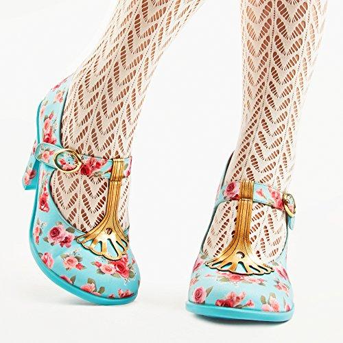 Hot Chocolate Design Chocolaticas Emma Mary Jane Damen-Absatzschuhe Mehrfarbig