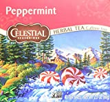 Celestial Seasonings Peppermint Herbal Tea, 40 Count (Pack of 6)