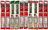 OSTRIM HIGH PROTEIN Snack Stick Sampler Set – Turkey, Elk & Beef Jerky Sampler 10 pack