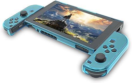 Funda para Nintendo Switch, Hard Case Funda para Switch, asnlove Premium PC Carcasa Case Cover Carcasa Funda para Nintendo Switch Game joycon controlador, azul: Amazon.es: Belleza