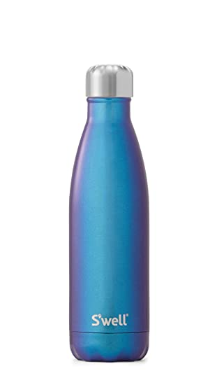 S/'well Insulated Stainless Steel Water Bottle 17 oz Ocean Blue NEW