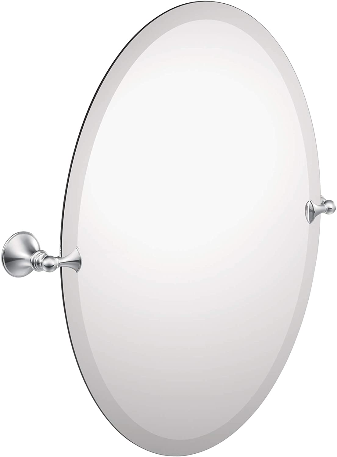 Moen DN2692CH Glenshire 26 x 22-Inch Frameless Pivoting Bathroom Tilting Mirror, Chrome: Home Improvement