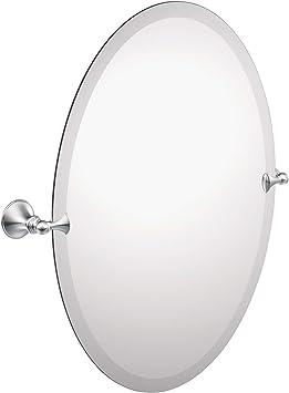 Amazon Com Moen Dn2692ch Glenshire 26 X 22 Inch Frameless Pivoting Bathroom Tilting Mirror Chrome Home Improvement