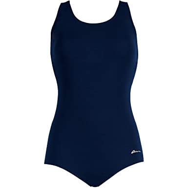 735754c6fcb Image Unavailable. Image not available for. Color: Dolfin Swimwear Conservative  Lap Suit ...