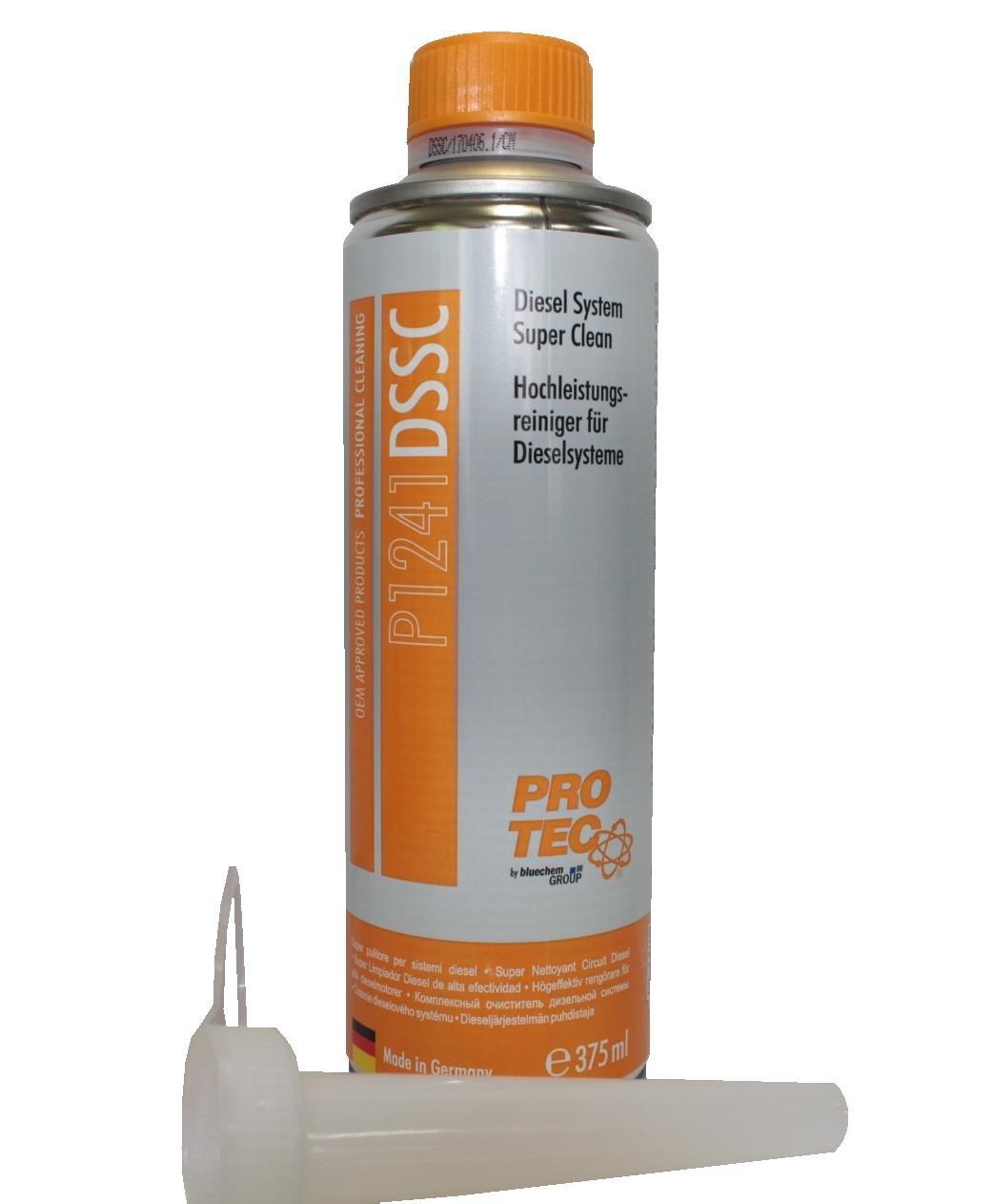 PRO TEC Diesel System Super Clean - Super pulitore per sistemi diesel 375 ml. PROTEC 1241 Limpieza Sistema Diesel