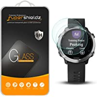 (2 Pack) Supershieldz for Garmin Forerunner 645 and Forerunner 645 Music Tempered Glass Screen Protector, Anti Scratch, Bubble Free
