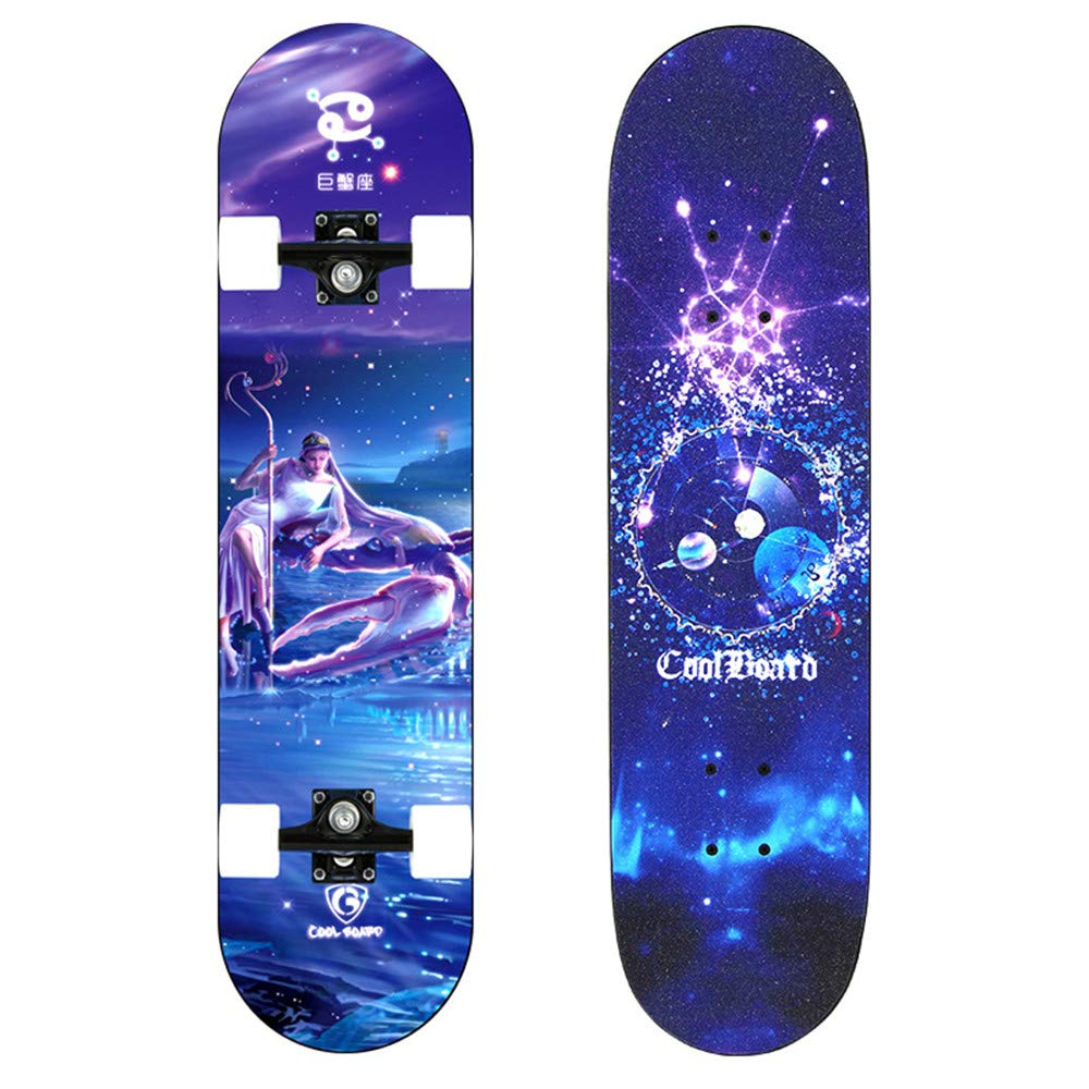 FGKING Patinete de Rueda Flash, LED Skateboard Complete ...