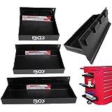 BGS magnético estantes Set, 3piezas, 150–210–310mm, 1pieza, 67150