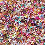 Flower Garden Confetti Mix Multi-colored Biodegradable Floral Wedding Party Decorations Decor Throwing Send Off InsideMyNest (25 Handfuls)