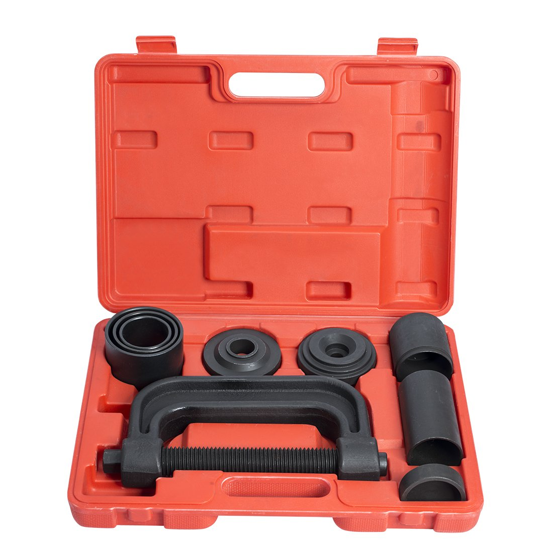 WORKPRO 4-in-1 Ball Joint Service Tool Kit 2WD & 4WD Remover Installer with 4-Wheel Drive Adapters by WORKPRO (Image #5)