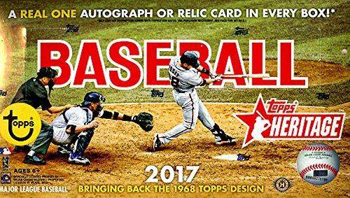 (2017 Topps Heritage Baseball Hobby)