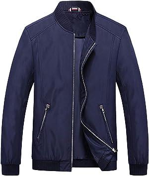 メンズコート・ジャケット-メンズ2020スタンドカラー長袖ジャケットジャケット