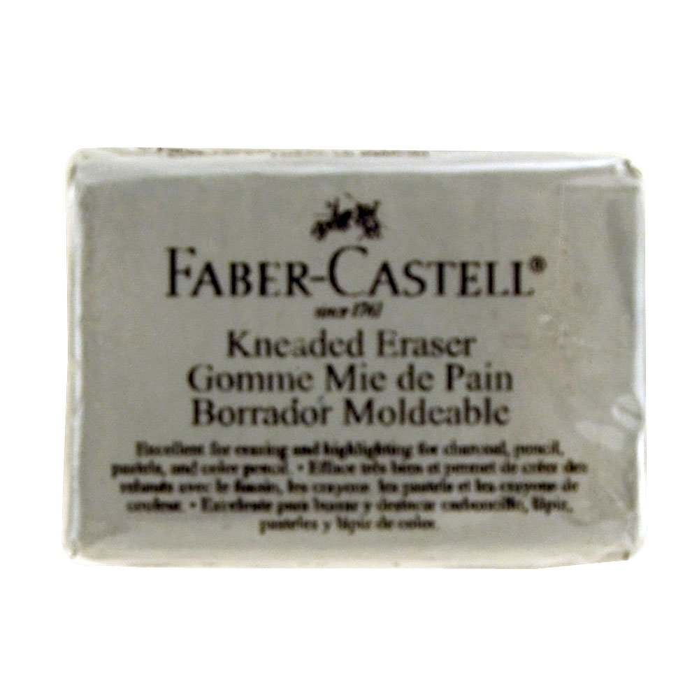 Faber-Castell Kneaded Eraser, Large, Grey (FC587531) FABER CASTELL 4336950577