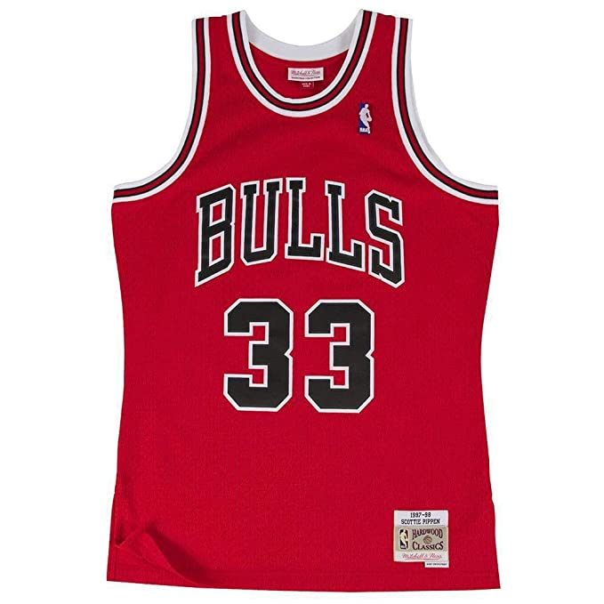 Mitchell & Ness Chicago Bulls Scottie Pipen Camiseta sin mangas: Amazon.es: Ropa y accesorios