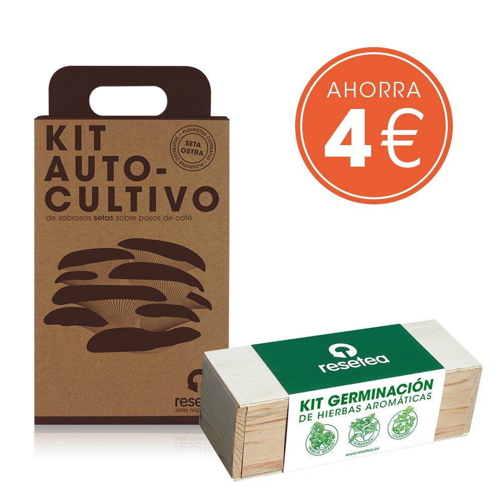 Pack Ahorro Kit Setas + Kit Aromáticas Resetea
