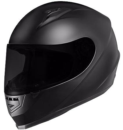 4dff30229e1bd Amazon.com  GLX GX-11 Full-Face Motorcycle Helmet + extra interchangeable  tinted visor (X-Large