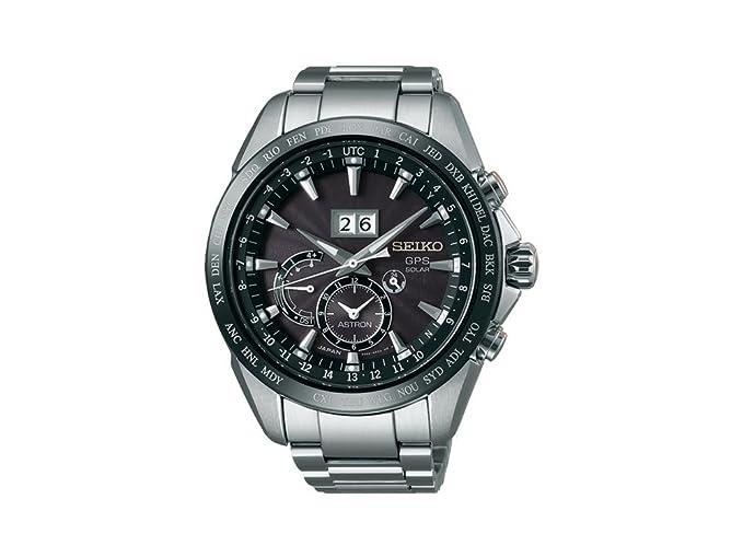Seiko Reloj Analógico para Hombre de Energía Solar con Correa en Acero Inoxidable SSE149J1: Amazon.es: Relojes