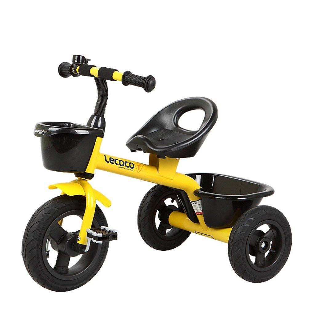 XQ 子供の三輪車自転車キッズバイク3-6歳 子ども用自転車 ( 色 : イエロー いえろ゜ ) B07CGDJ9XZ イエロー いえろ゜ イエロー いえろ゜