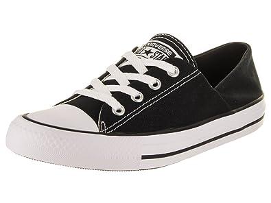 Converse Chuck Taylor All Star Coral Ox Fashion Sneaker Shoe - Black White  - Womens d640ad6bd