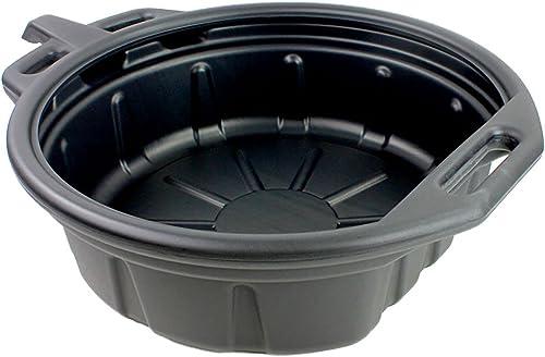 Capri Tools CP21024 Portable Oil Drain Pan Black - 2 Gallon