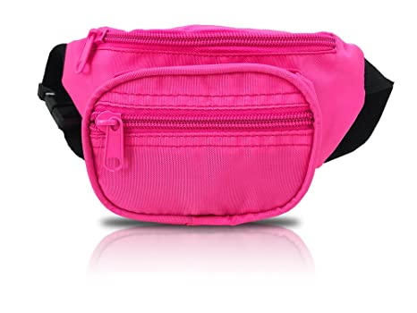 fbe57cbbdb6 Nineteen80something Fanny Pack For Children/Kids Size Waist Bag/For Boys,  Girls, Toddlers And Babies (Neon Pink)