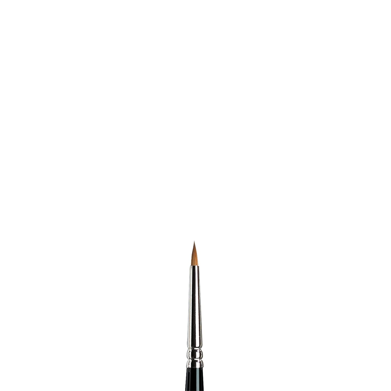 Winsor & Newton Series 7 Kolinsky Sable Miniature Watercolor Brush - Short Handle Round #00 5012020