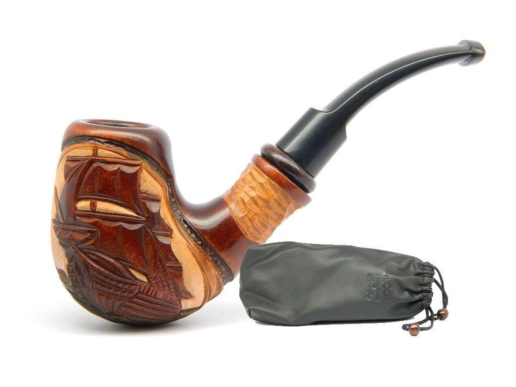 Amazon.com Dr.Watson - Tobacco Smoking Pipe - Flying Dutchman Ship - Hand Carved Pear Wood (9mm filter) + Branded Pouch Health u0026 Personal Care  sc 1 st  Amazon.com & Amazon.com: Dr.Watson - Tobacco Smoking Pipe - Flying Dutchman Ship ...