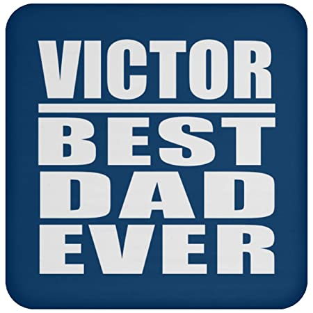 Victor Best Dad Ever - Drink Coaster Royal Posavasos para ...
