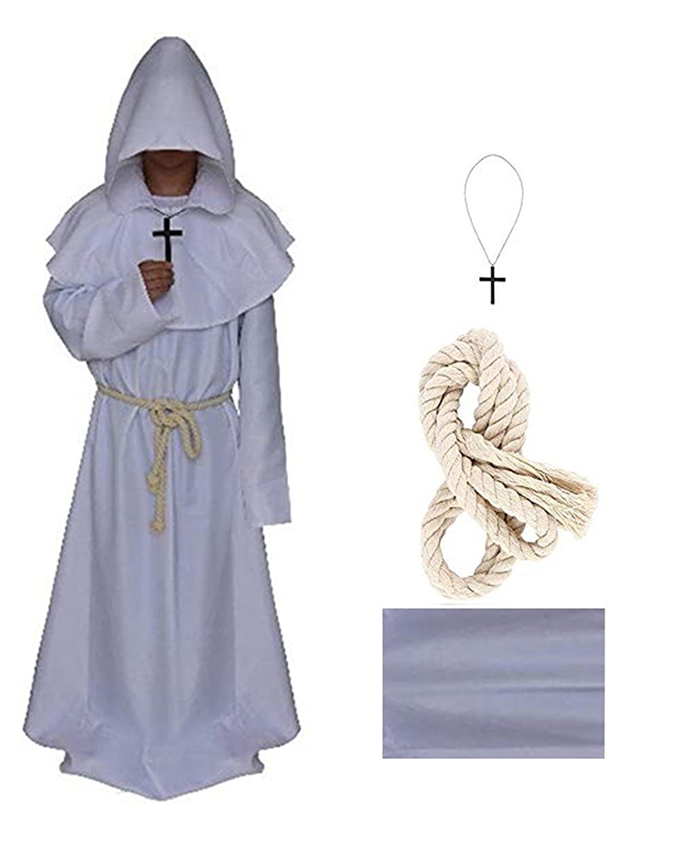 Amazon.com: Disfraz de Pastor de 5 colores medieval ...