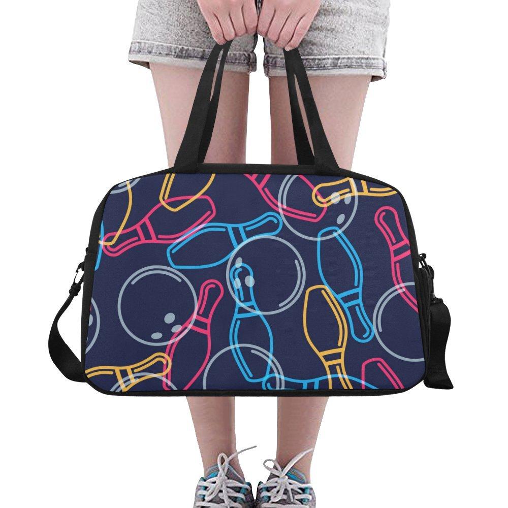 Unique Design Duffel Bag Bowling Ball Travel Tote Bag Handbag Crossbody Luggage
