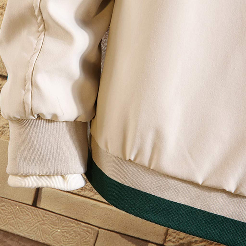 Storerine Veste Homme Hiver Chaud Grande Taille Parka Blouson de Coton Épais Manteau Manches Longues Zippée Ski Vêtements M-3XL Blanc