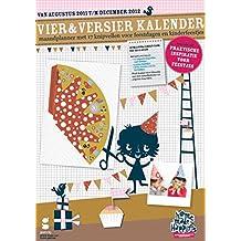 Vier&Versier Kalender 2012: maandplanner met 17 knipvellen voor feestdagen en kinderfeestjes