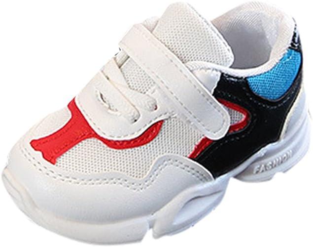 Familizo Zapatillas Bebé Niños niñas Colores Mezclados Zapatillas ...