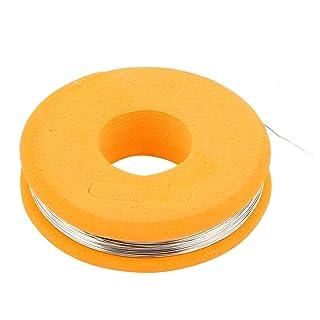 SOURCING MAP sourcingmap® Constantan 0,2 mm de calibre AWG 32 4,7 Ohms/ft Cable calefactor 50ft a15071400ux0485