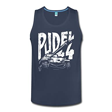 05bb937b95afe Spreadshirt World of Tanks Pudel 44 Men s Tank Top