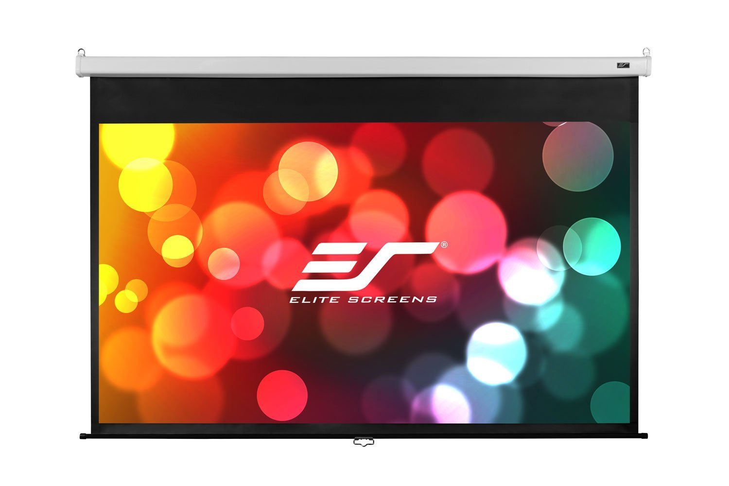 Elite Screens Manual SRM Pro, 100-inch 16:9, Slow Retract Pull Down Projection Manual Projector Screen, M100HSR-Pro by Elite Screens