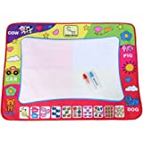 Water Drawing Mat Painting Writing Board Toy Doodle Board With 2 Magic Pens Kid Doodling And Learning Tool 8060cm
