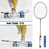 Whizz Badminton Schläger Racket Set Profi 100% Graphit Carbon A730 80g 26lbs