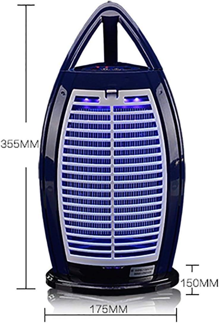 ZXL Dispositivo Anti-Mosca Intelligente a LED Trappola per Imbuto per inalatore di zanzare azionata da ABS con Luce di zanzara//Funzionamento Silenzioso//Nessuna radiazione Non tossica//Non