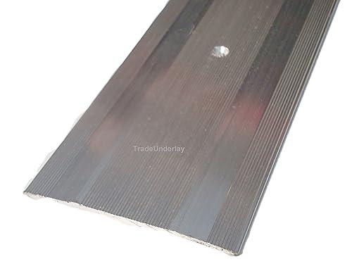Carpet And Vinyl Metal Floor Edging Extra Wide Carpet Cover Strip