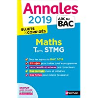 Annales ABC du BAC 2019 - Maths STMG
