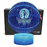 TriPro Basketball Shape 3D Optical Illusion Smart 7