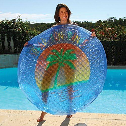 x5 Solar Sun Rings Heat Your Pool! Pool Cover Heater 2x FREE !! Sun Rings