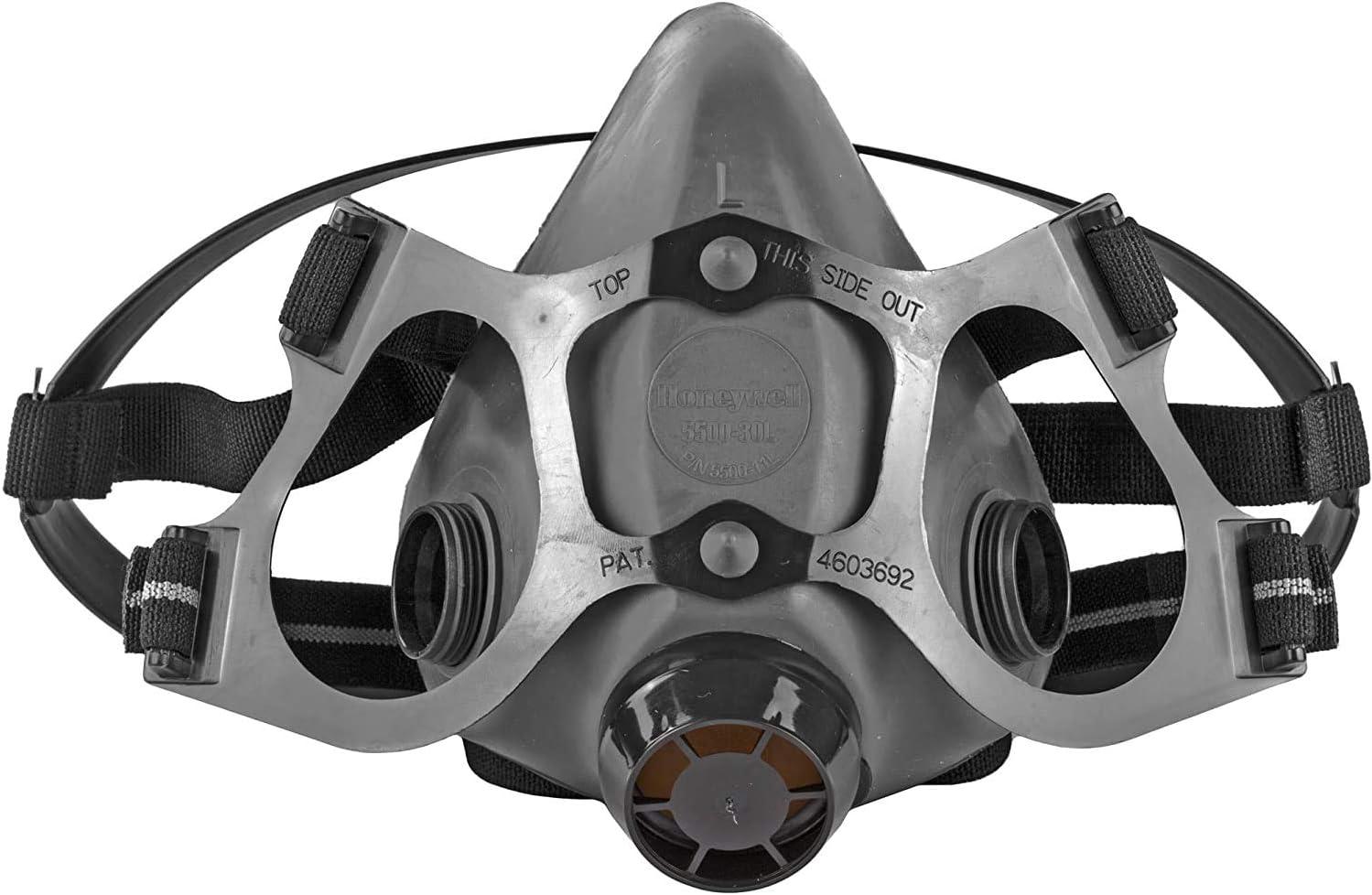 NORTH 550030L HALF MASK RESPIRATOR - Half Mask Respirator 5500 Series (Large) New